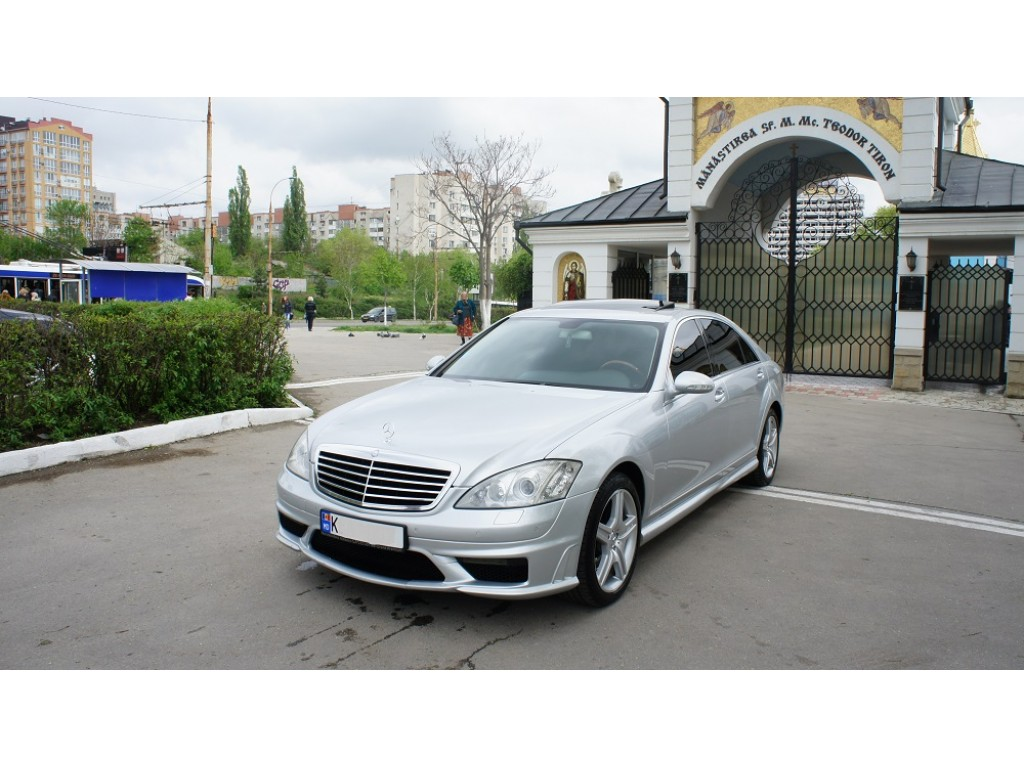 mercedes s-klass amg long прокат авто