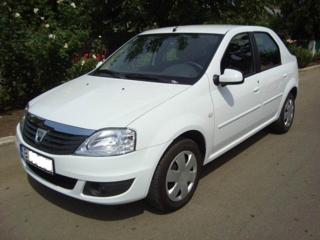 dacia logan  hire a car